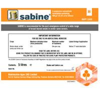 Sabine back 172x152mm